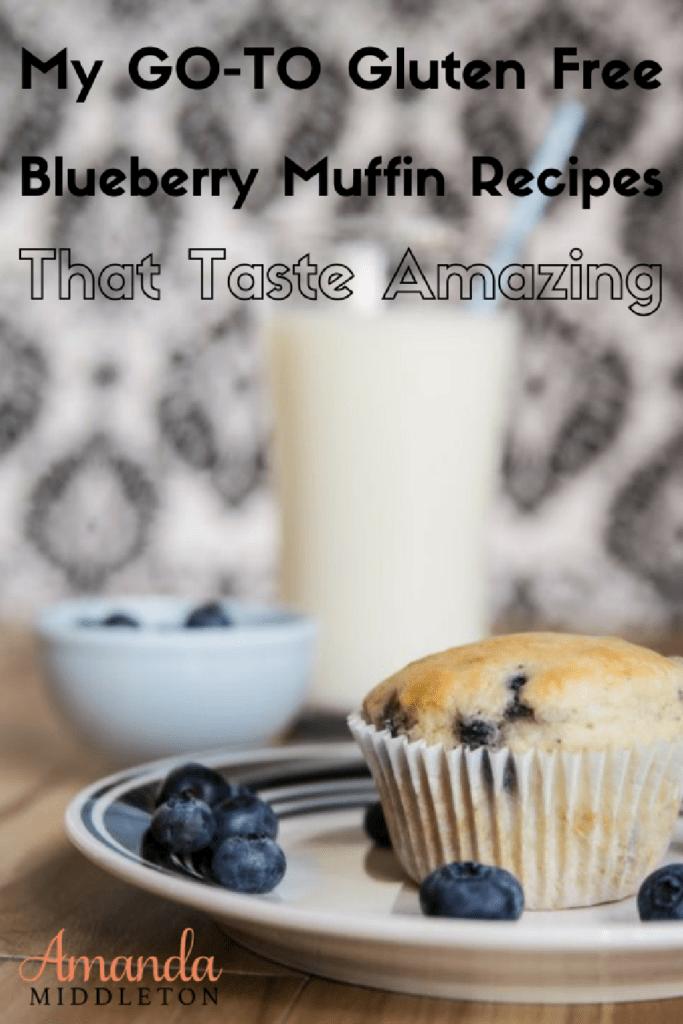 My GO-TO Gluten Free Blueberry Muffin Recipes That Taste Amazing