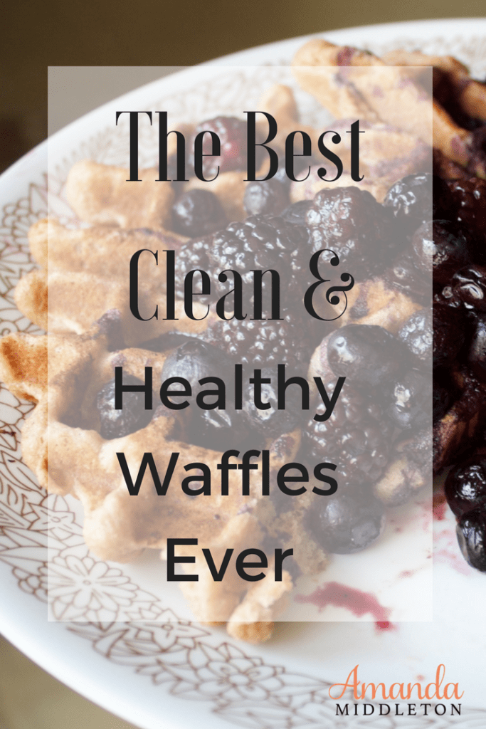 The Best Gluten Free Clean and Healthy Waffles Ever