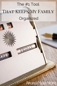 The #1 Tool That Keeps My Family Organized