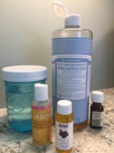Non-Toxic DIY Liquid Hand Soap