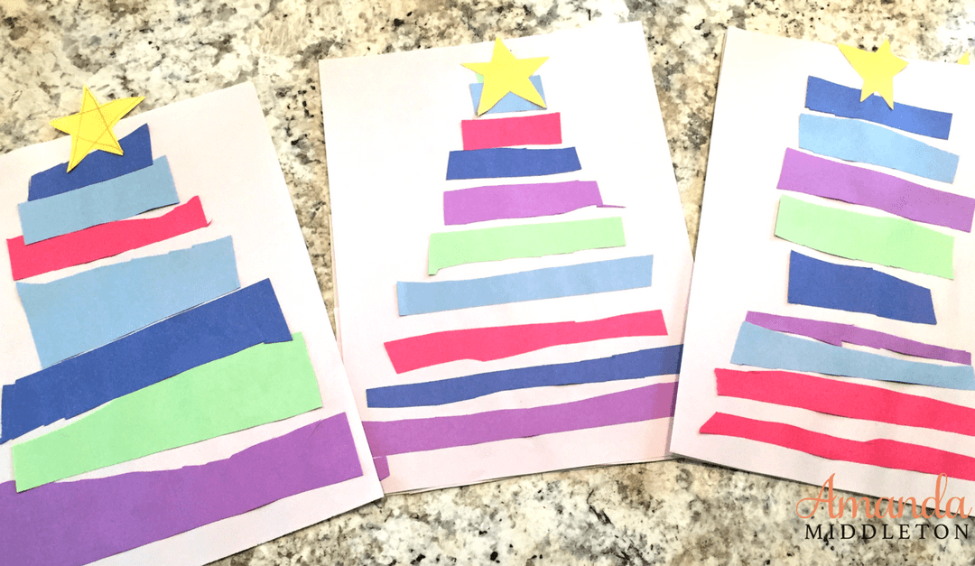 Christmas Paper Tree Kids' Craft