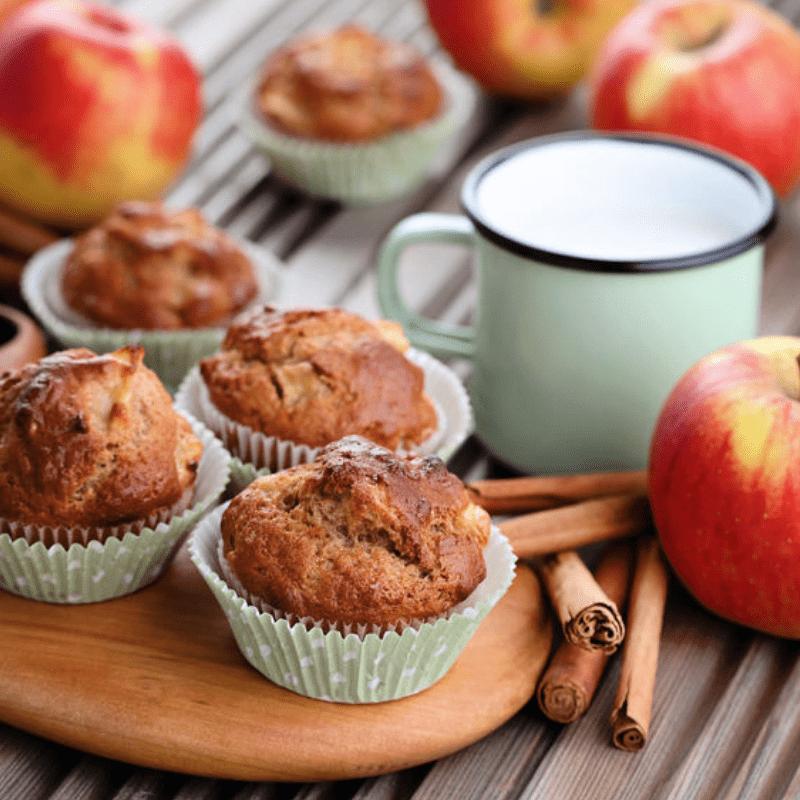 Gluten Free Applesauce Streusel Muffins