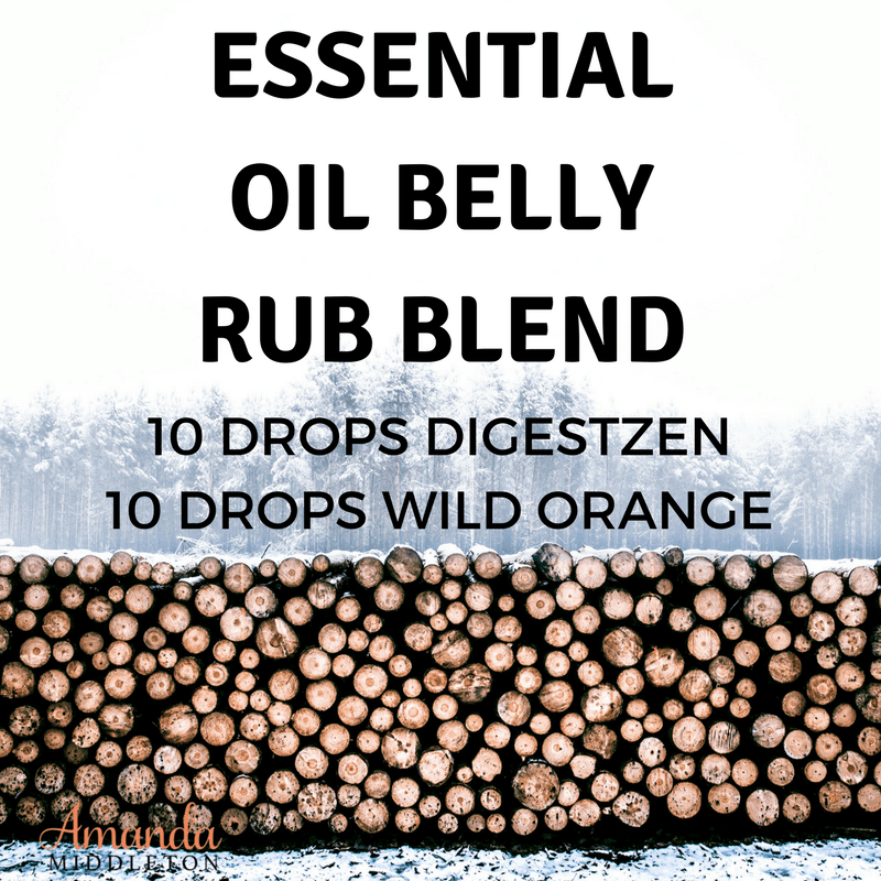 Essential Oil Belly Rub Blend For Little Tummy Aches
