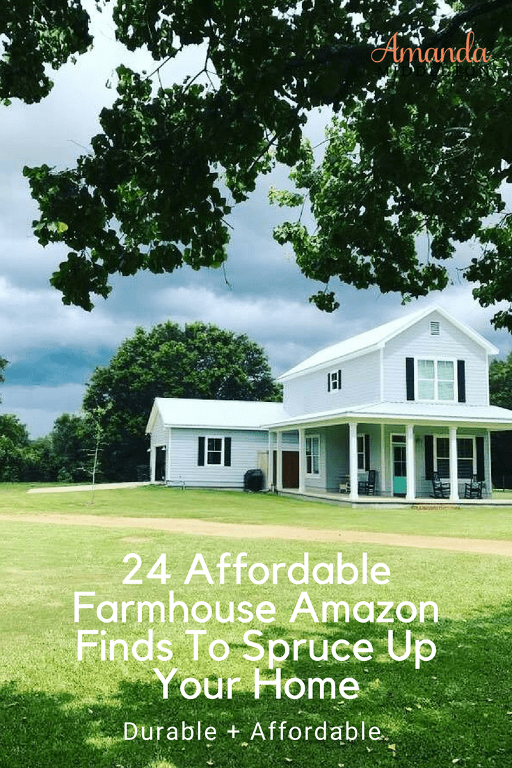 24 Affordable Farmhouse Amazon Finds To Spruce Up Your Home