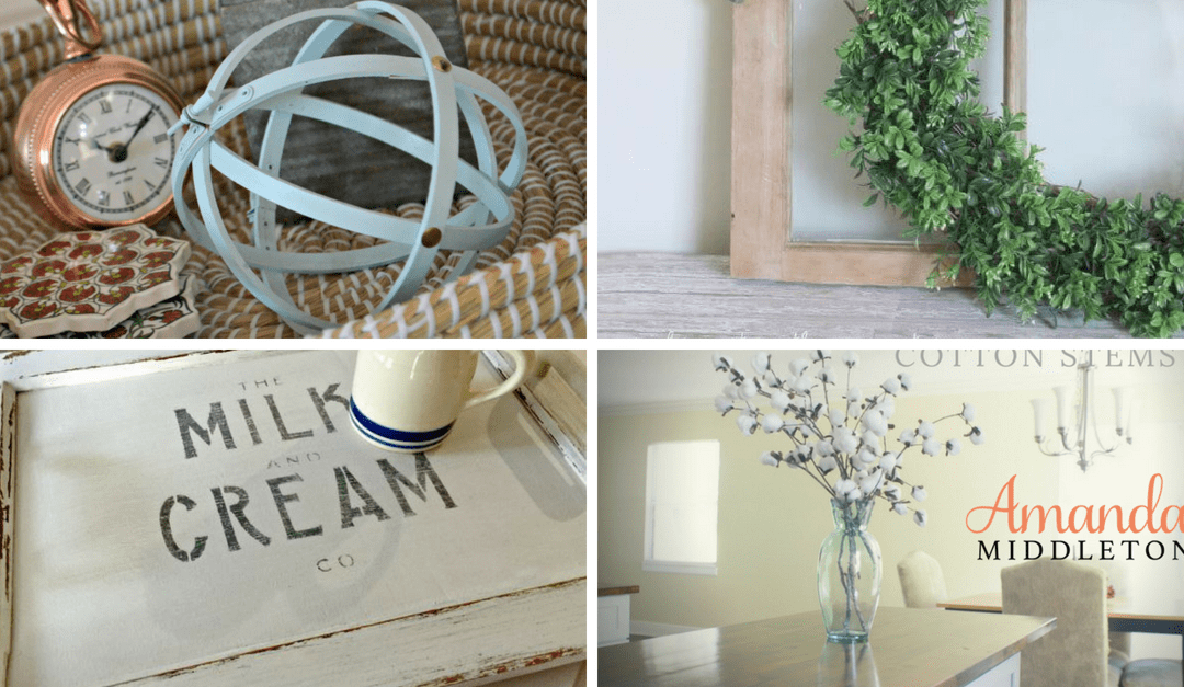 8 Affordable Farmhouse Project And DIY Ideas For Your Beautiful Home