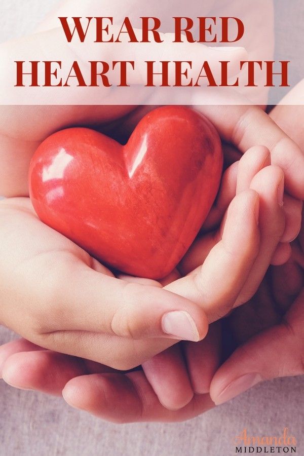 I can't let heart health month go by without reminding all of you to take care of yourself, get yourself checked frequently with a doctor, and listen to your body, always! #AmandaMiddleton #faithblog #wordsoftruth #WearRed #HeartHealthMonth #hearthealth #hearthealthy