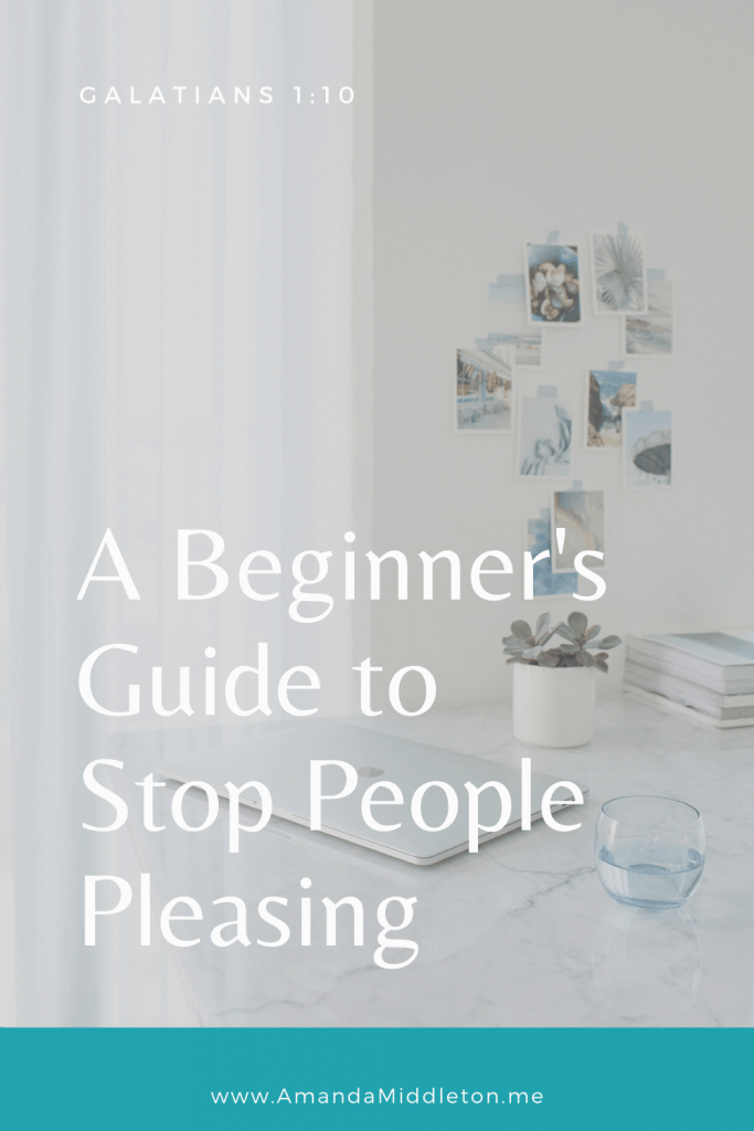 A Beginner's Guide to Stop People Pleasing