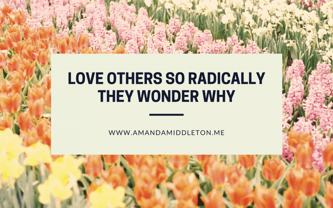 Love Others So Radically They Wonder Why